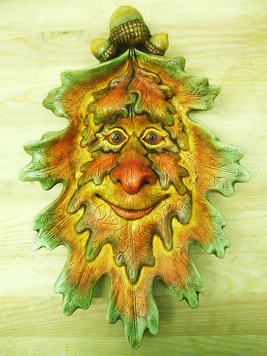 Green Man Ceramic
